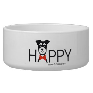 Small earthen bowl for Happy dogs