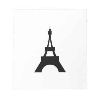 SMALL EIFFEL TOWER SCRATCH PADS