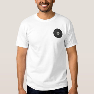 Small Eight Ball Embroidered T-Shirt