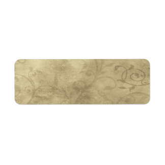 Small Elegant Papyrus Apothecary Label