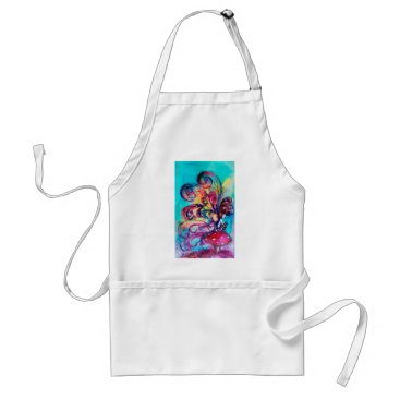 Halloween Themed Small Elf of Mushrooms Adult Apron