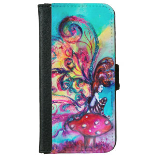 SMALL ELF OF MUSHROOMS iPhone 6 WALLET CASE