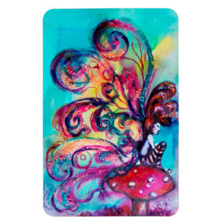 SMALL ELF OF MUSHROOMS MAGNET