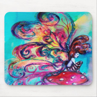 Small Elf of Mushrooms Mouse Pads