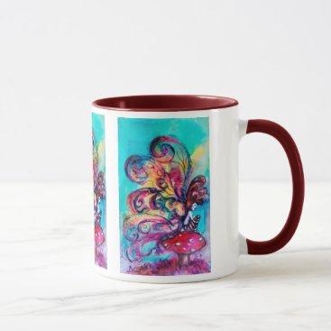 Halloween Themed Small Elf of Mushrooms Mug