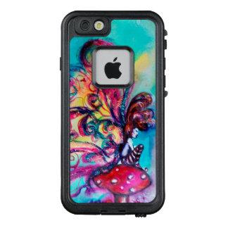 SMALL ELF OF MUSHROOMS Pink Blue Fantasy LifeProof FRĒ iPhone 6/6s Case