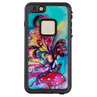 SMALL ELF OF MUSHROOMS Pink Blue Fantasy LifeProof FRĒ iPhone 6/6s Plus Case