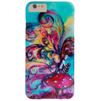 SMALL ELF OF MUSHROOMS ,Pink Gold Yellow Blue Barely There iPhone 6 Plus Case