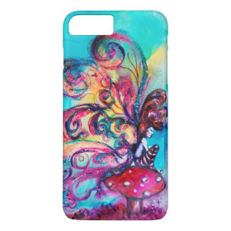SMALL ELF OF MUSHROOMS ,Pink Gold Yellow Blue iPhone 8 Plus/7 Plus Case