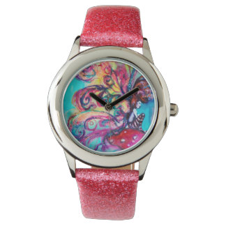 SMALL ELF OF MUSHROOMS WRISTWATCHES