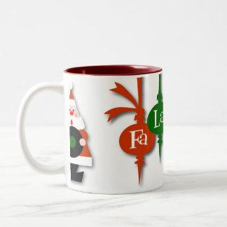 Small FaLaLaLaLa Mug