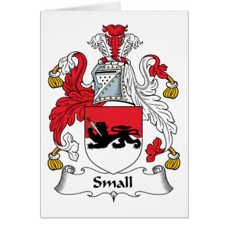 Small Family Crest Card