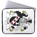 Small Family Crest Laptop Computer Sleeve