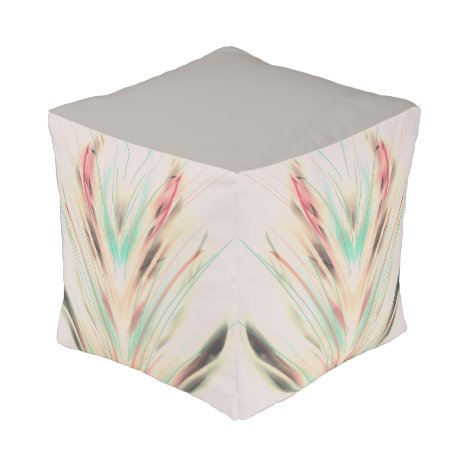Small - Feathers Pouf