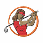 Small Female Golfer Jacket