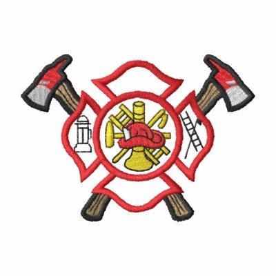 Small Fire Logo #2 Track Jacket