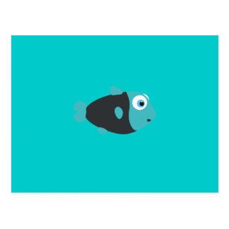 Small Fish Postcard