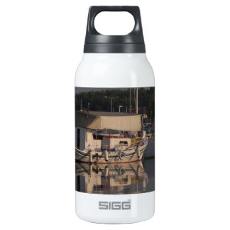 Small Fishing Boat Insulated Water Bottle