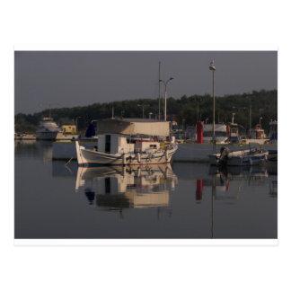 Small Fishing Boat Postcard