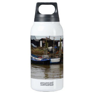 Small Fishing Boats Insulated Water Bottle