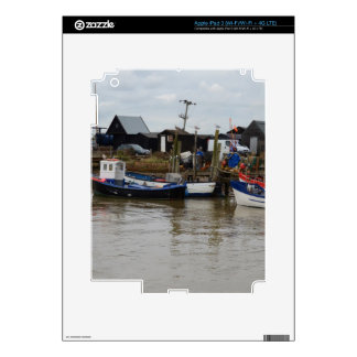 Small Fishing Boats Decals For iPad 3