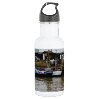 Small Fishing Boats Stainless Steel Water Bottle