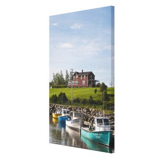 Small fishing village near Grande-Riviere, Gallery Wrap Canvas