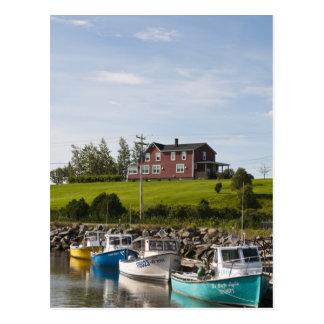 Small fishing village near Grande-Riviere, Postcard