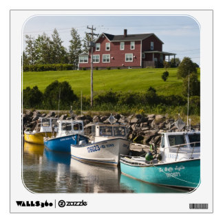 Small fishing village near Grande-Riviere, Wall Decal