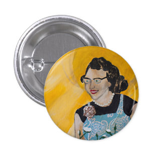 Small Flannery O'Connor Button