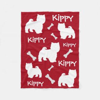 Small Fluffy Dog Terrier Blanket