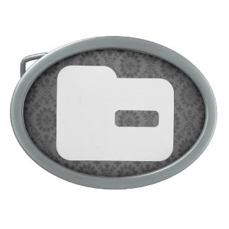 Small Folders Pictograph Belt Buckles