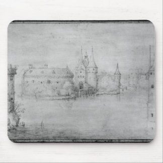 Small fortified island, Amsterdam, 1562 Mouse Pad