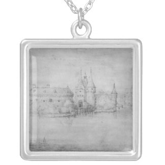 Small fortified island, Amsterdam, 1562 Necklaces