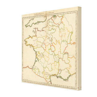 Small French Rivers Stretched Canvas Prints