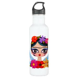 Small Frida foretells Stainless Steel Water Bottle