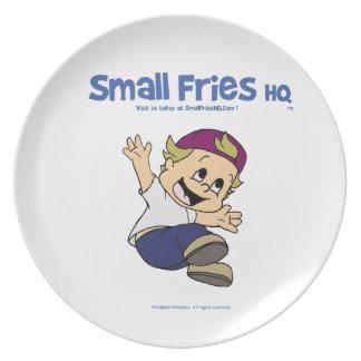 Small Fries HQ Albert Plate