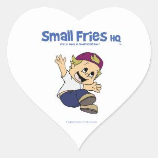Small Fries HQ Albert Sticker Heart