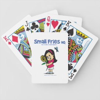 Small Fries HQ Becky Playing Cards