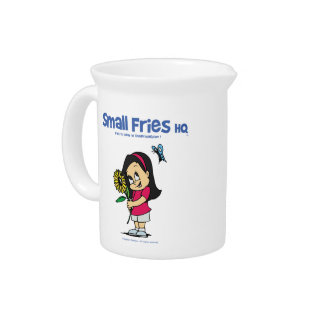 Small Fries HQ Becky Porcelian Pitcher