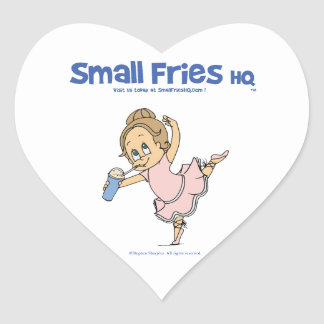 Small Fries HQ Denise Sticker Heart