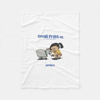 Small Fries HQ Junebug Fleece Blanket 01