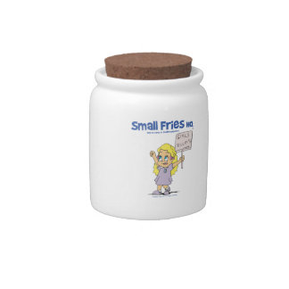 Small Fries HQ Ophelia Candy Jar