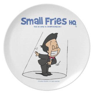 Small Fries HQ Oscar Melamine Plate