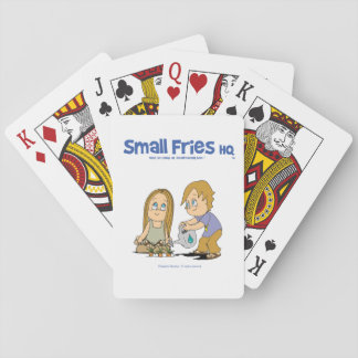Small Fries HQ Summer& Sky Playing Cards
