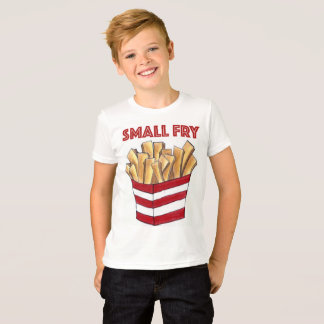 SMALL FRY Foodie French Fries Fast Food Kid Shirt