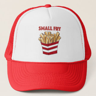 SMALL FRY French Fries Fast Food Junk Foodie Trucker Hat