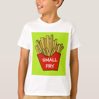 Small fry french fries kids t-shirt