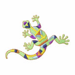 Small Gecko Embroidered Polo Shirt