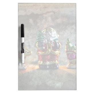 Small German Santa Claus figure Dry Erase Board